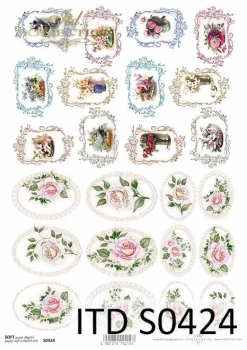 Decoupage paper Soft ITD S0424