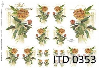Decoupage paper ITD D0353M