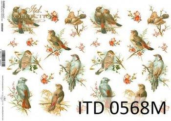 Decoupage paper ITD D0568M