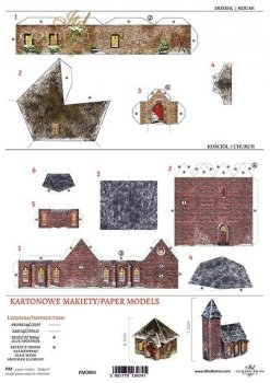 cut-out paper model PM-0004