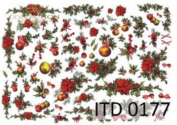 Decoupage paper ITD D0177M