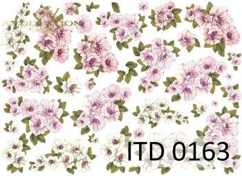 Decoupage paper ITD D0163M