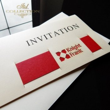 Business invitation ZB1013