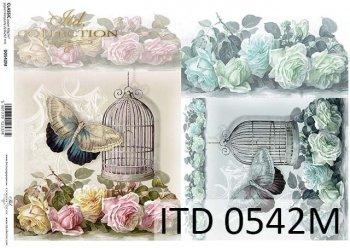 Decoupage paper ITD D0542M