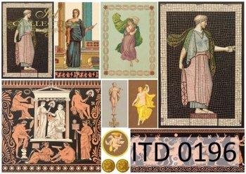 Decoupage paper ITD D0196