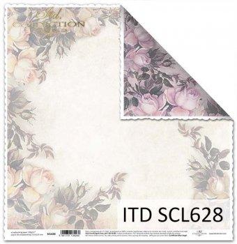 Papier scrapbooking SCL628