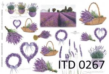 Papier decoupage ITD D0267