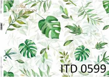 Papier decoupage ITD D0599
