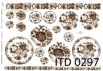 Papier decoupage ITD D0297