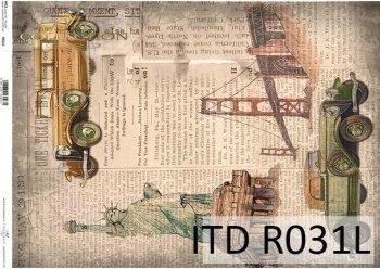 Papier ryżowy ITD R0031L