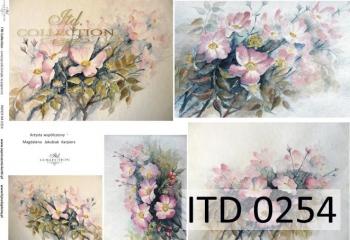 Papier decoupage ITD D0254M