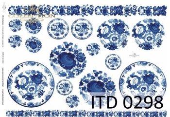 Papier decoupage ITD D0298