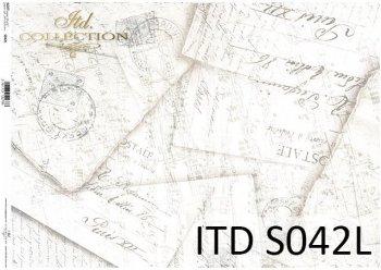 Papier decoupage SOFT ITD S0042L