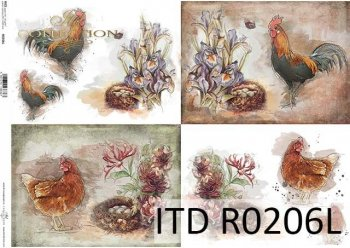 Papier ryżowy ITD R0206L