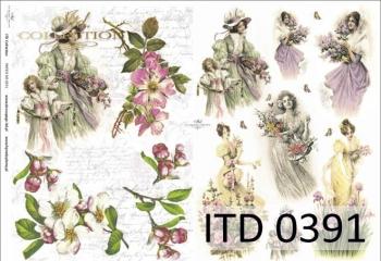 Papier decoupage ITD D0391M