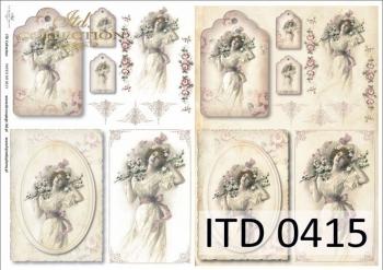Papier decoupage ITD D0415