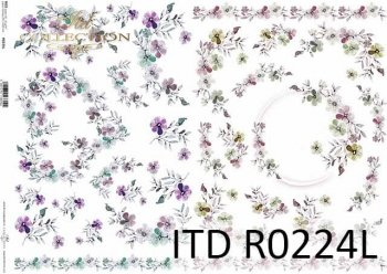 Papier ryżowy ITD R0224L