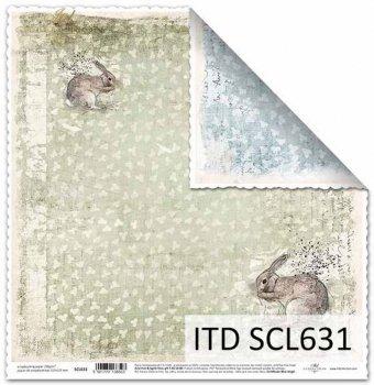 Papier scrapbooking SCL631