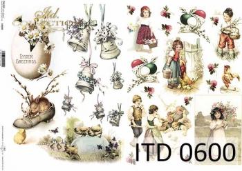Papier decoupage ITD D0600