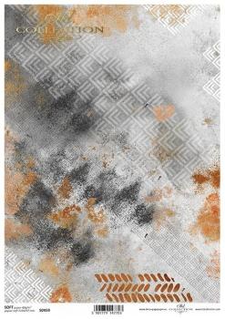 Papier decoupage SOFT ITD S0459