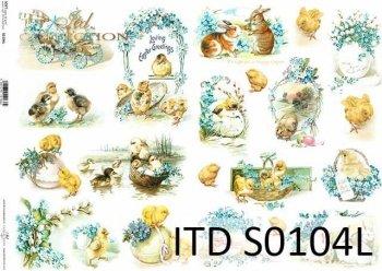 Papier decoupage SOFT ITD S0104L