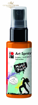 Acrylic spray Marabu Art 50 ml - Tangerine 225