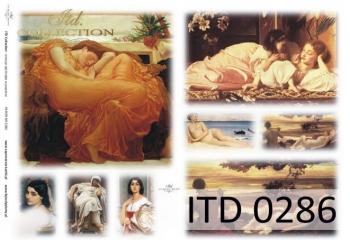 Papier decoupage ITD D0286M