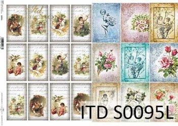 Papier decoupage SOFT ITD S0095L