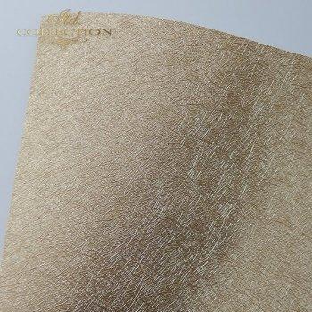Papier do scrapbookingu PSS038 - strukturalny - stare złoto - A4