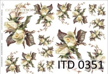 Papier decoupage ITD D0351M