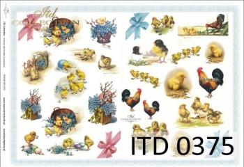 Papier decoupage ITD D0375M