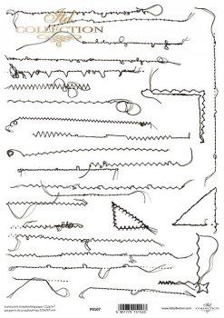 Pergamin do scrapbookingu P0107