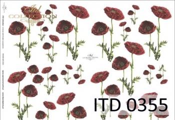 Papier decoupage ITD D0355