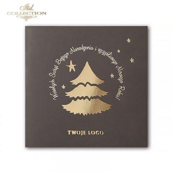 Kartki bożonarodzeniowe / kartka świąteczna K571