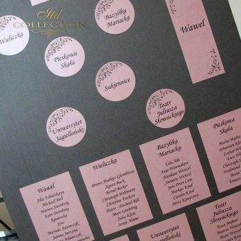 Plan stołów PS1483