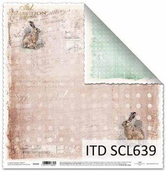 Papier scrapbooking SCL639