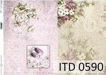 Papier decoupage ITD D0590