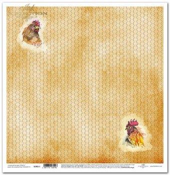 Papier scrapbooking SL901-1