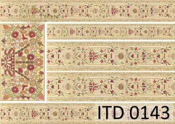 Papier decoupage ITD D0143M