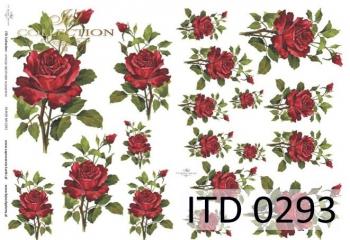 Papier decoupage ITD D0293M
