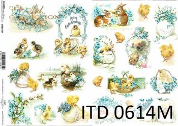 Papier decoupage ITD D0614M