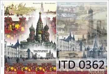 Papier decoupage ITD D0362M