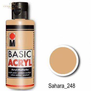 Farba akrylowa Basic Acryl 80 ml Sahara 248