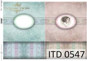 Papier decoupage ITD D0547