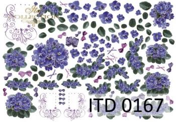 Papier decoupage ITD D0167M