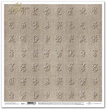 Papier scrapbooking SL864-1