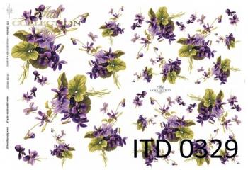 Papier decoupage ITD D0329M