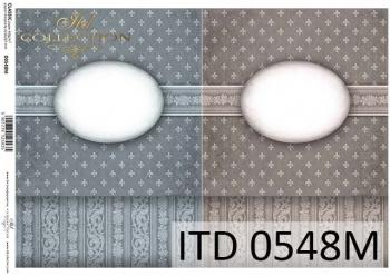 Papier decoupage ITD D0548M