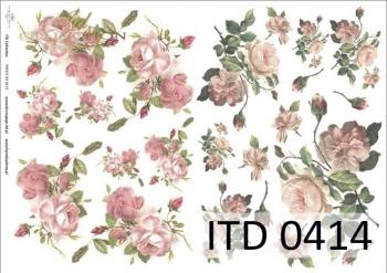 Papier decoupage ITD D0414