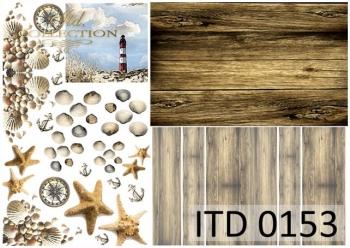 Papier decoupage ITD D0153